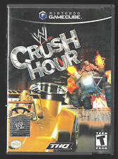 WWE Crush Hour (Game Cube) 2003 Nintendo VG condition CIB complete FREE SHIP
