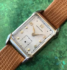 Vintage Hamilton 982 , 19 jewels Mens Wristwatch