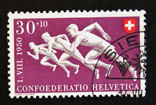 Timbre SUISSE - Stamp SWITZERLAND - Yvert et Tellier n°500 (b) obl (Cyn16)