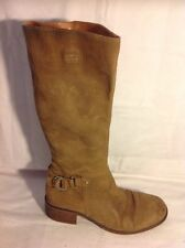 Pierre Cardin Brown Knee High Leather Boots Size 40