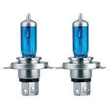 kit 2 lampadine potenziate 4600K H4 12V- 60-55W SUPER PLASMA WHITE SIMONI RACING