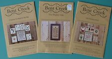 Lot Bundle Bent Creek Cross Stitch Patterns Charts