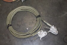 CHANCE HUBBELL 3 PHASE JUMPER CABLES GROUNDING CABLES 30FT