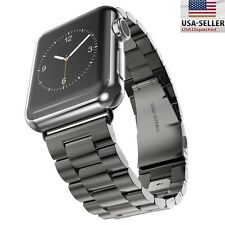 For Apple Watch Series 4 3 2 1 Band 38mm 40mm Stainless Steel Replacement Strap
