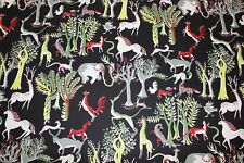 Pierre Frey Zoo F5551001 Animals Curtain/upholstery Fabric 3.0 metres