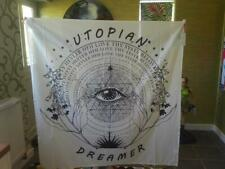 "Urban Outfitters Tapisserie/Mural 50"" X 50"" Hippie/Illuminati RRP £ 25"