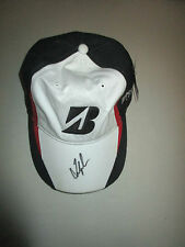 FRED COUPLES HAND SIGNED BRIDGESTONE CAP UNFRAMED + PHOTO PROOF C.O.A