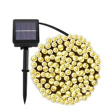 Solar String Lamps Fairy Garden Waterproof Outdoor Lighting Xmas Holiday Decors