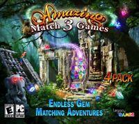 Amazing Match 3 Games PC Games Windows 10 8 7 XP Computer Games puzzle gem match