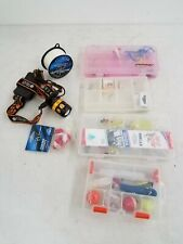Assorted Lot of Fishing Accessories w/ Cases