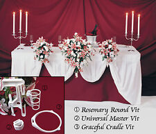 5 Wedding Flowers Bridal Bouquet Holder A Head Table Display Decorations 3VITS