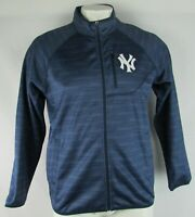 New York Yankees Men's G-III Navy Blue Full-Zip Track Jacket MLB L