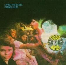 """CANNED HEAT """"LIVING THE BLUES"""" 2 CD NEUWARE"""