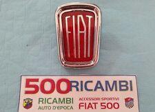 FIAT 500 F/L/R SCUDETTO ORIGINALE CROMATO LOGO STEMMA FIAT FREGIO X CALANDRA