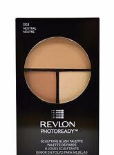 REVLON PHOTOREADY SCULPTING BLUSH PALETTE ~ #03 NEUTRAL ~ NEW/SEALED ~ RRP$26.95