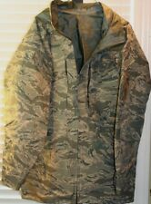 US Military Improved ACU All Purpose Rainsuit Wet Weather Parka Size Medium Long
