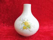 schönes Vase__100 jahre Rosenthal__Romanze__gelbe Blume_ !