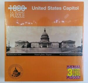 """VTG 1998 FX Schmid United States Capitol 1000 pc Panorama 3"""" Jigsaw Puzzle New!"""