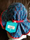 NWT Sunday Afternoons Kids Baby 6-24 Month Sun Hat Breathable UPF 50+ Small