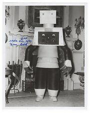 "RARE 1954 ""BOWERY BOYS MEET THE MONSTERS"" Norm Bishop Signed Robot Photo!!"