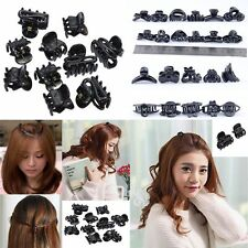 Sale  Mixed Plastic Black Hair Clips Small Claws Clamps Hairpin