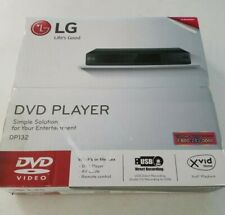 Lg Dp132 Dvd Player Black Includes Av Cable And Remote Control new/open box