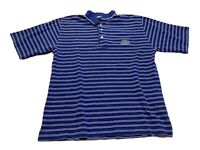 Florida Gators Cutter & Buck Size S Polo Shirt Striped Blue White Golf