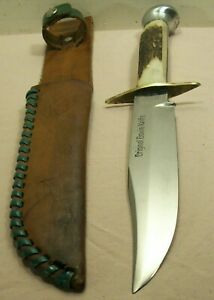 1950's~HYGRADE CUTLERY CO.~6649~ORIGINAL BOWIE KNIFE~GERMAN STAG HUNTING KNIFE~