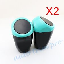 2X Car Door Inner Trash Garbage Bin Can Rubbish Crap Dust Case Cup Holder Parts