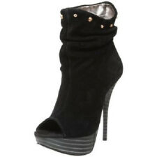 Zandra Rhodes Black Caprice Boots UK7 Eur 40 BNIB