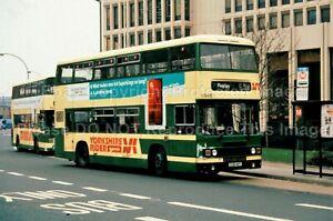 Original Bus Slide: Yorkshire Rider Leyland Olympian CUB48Y ex WYPTE