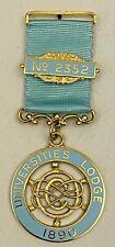 Centenary Jewel Universities Lodge No.2352 Durham Masonic