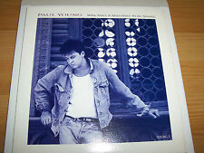 """Paul Young - Why Does A Man Have To Be Strong - 7 """" Single"""