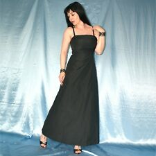 Rhinestones Am EVENING DRESS S 38 Satin Party Dress Cocktail Dress