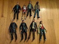 "NBC ""Heroes"" Action Figure Lot of 8 - loose (Custom Future Petrelli included)"