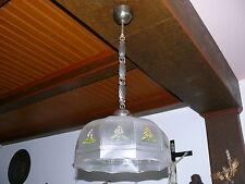 Art Deco Lampe Deckenlampe Original ca. 1920