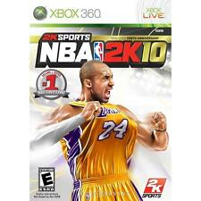 Pal version Microsoft Xbox 360 NBA 2K10