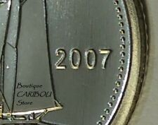 """2007 Canada Specimen 10 Cents """"Curved 7"""""""