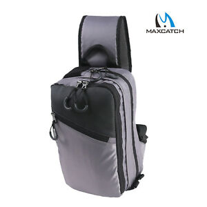 Maxcatch Fly Fishing Sling Pack Sling Shoulder Bag With Fly Patch Multi Function