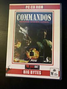 Commandos: Behind Enemy Lines (PC DVD-ROM )  Edios 🇦🇺 Very Good Free Post