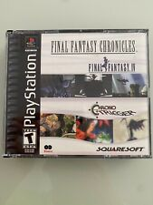 Final Fantasy Chronicles Chrono Trigger FF IV Sony Playstation Ps1 Near Mint