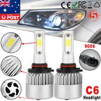 2x 9006/HB4 72W 8000LM LED Headlight Kit Bulb 6000K White Car High/low Beam Lamp
