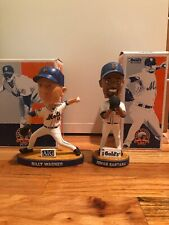 New York Mets 2008 SGA Bobblehead Set - Johan Santana + Billy Wagner