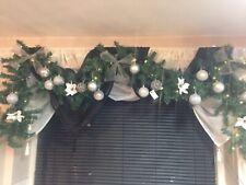 2.1 M 7 ft environ 2.13 m Guirlandes Décorations pour arbres de Noël de Noël Star Garland 5 Couleurs