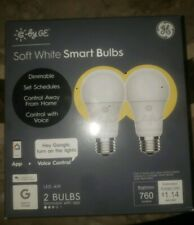 C by ge soft white smart bulbs 2 pack NEW SHIPS QUICK