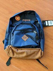 Brand New w/ tags JanSport City View Laptop Backpack -- Navy blue NWT