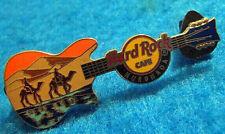 HURGHADA EGYPTIAN DESERT SAND DUNES CAMEL RIDERS OASIS GUITAR Hard Rock Cafe PIN