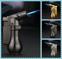 Solid Torch Jet Lighter Spray Gun Butane Cigar Cigarette Windproof Gas Lighters