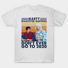 Back To The Future 2020 Film Movie Sci Fi Politics Protest Funny T Shirt 2