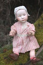 RARE Gebruder Heubach 7977 Bonnet Head Character Doll dans Good Size